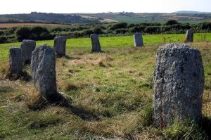 One of the many amazing things about Cornwall is the sheer number of really ancient stones and monuments that are literally just lying in fields, waiting for people to notice them.