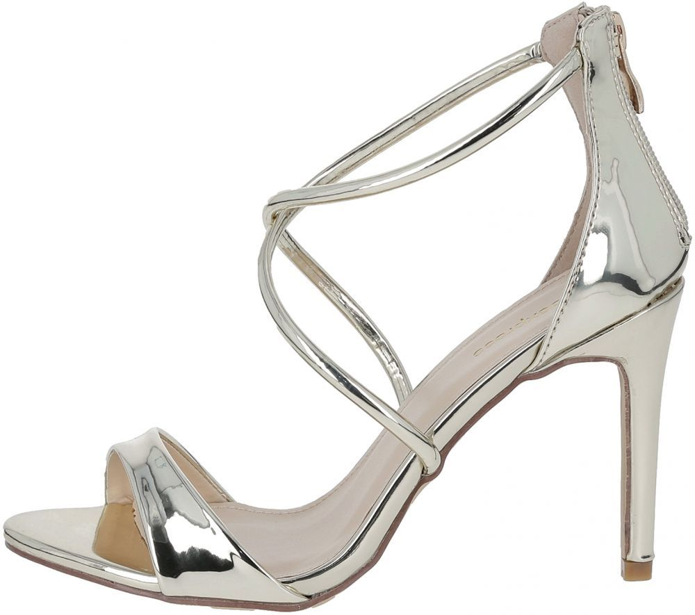 f17d7272f Buy Shoexpress Heel Sandals for Women - Gold - Sandals