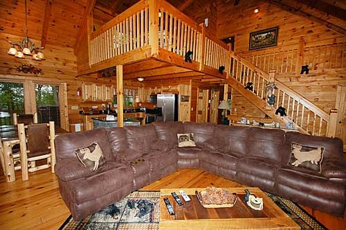Charmant Black Bear Lodge 4 Bedroom Vacation Cabin Rental In Pigeon Forge, TN