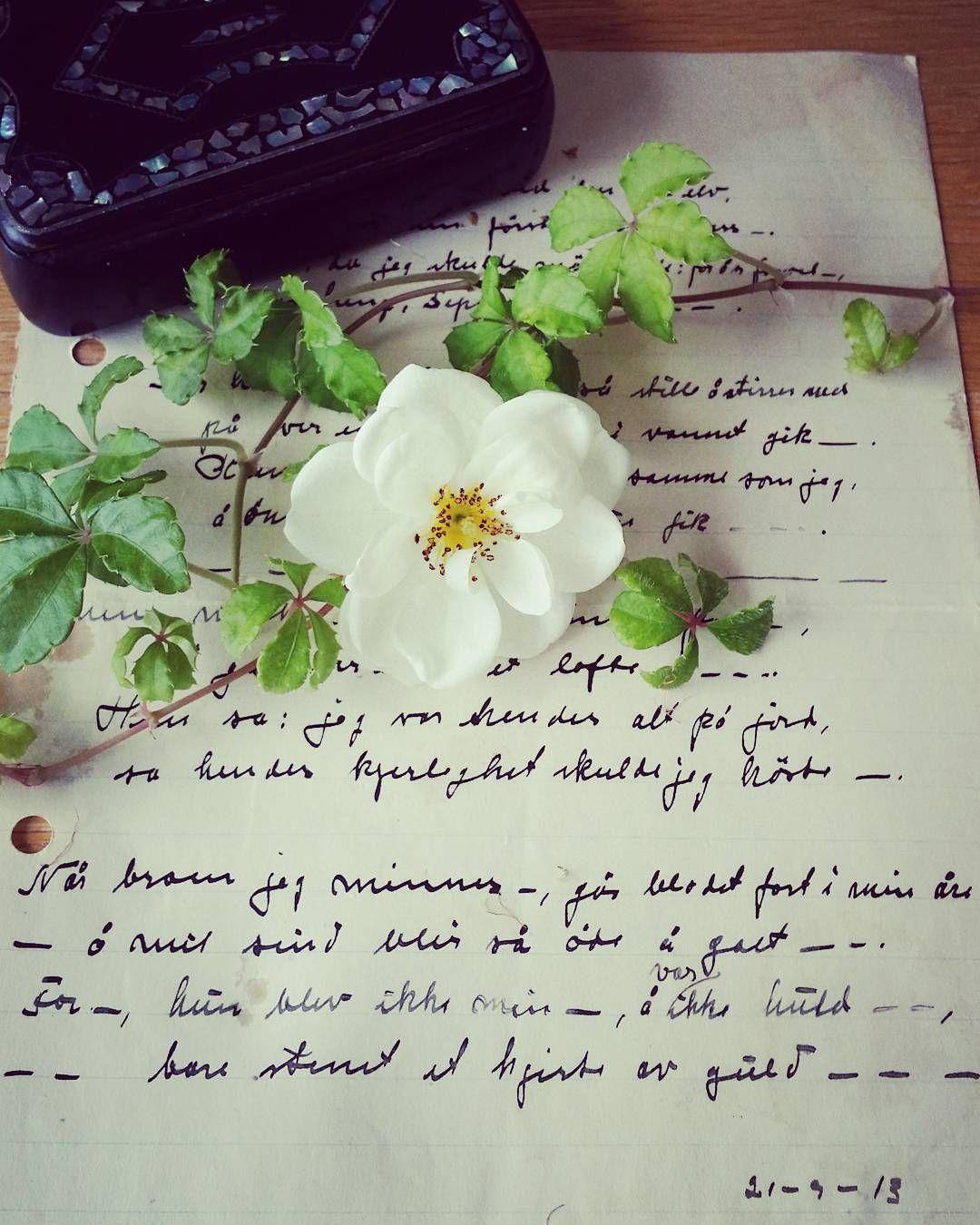 handwritten love poem from 1913