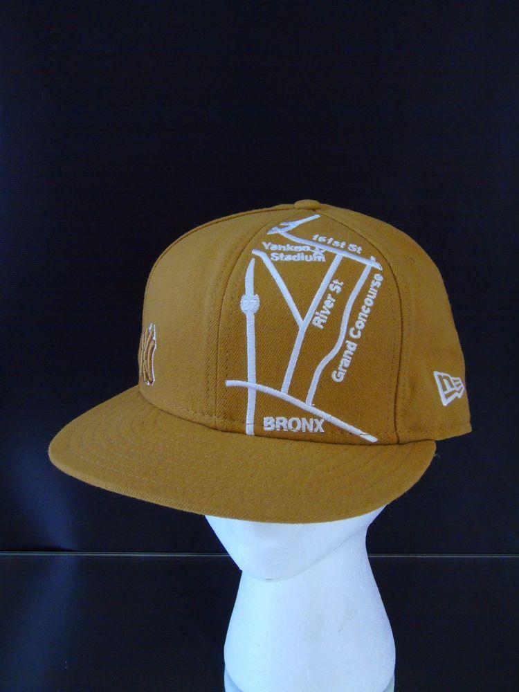 Baseball Cap NY Yankees Stadium Street Map Wool Hat New Era 59Fifty USA   NewEra 381a012d839