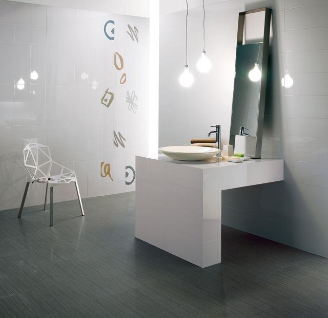 badezimmer-fliesen-ideen-fioranese-weissgrau-muster Badezimmer - fliesen für badezimmer
