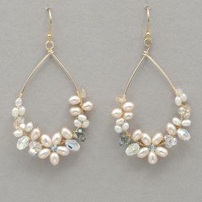 Holly Yashi Leilani Earrings #pearljewelry