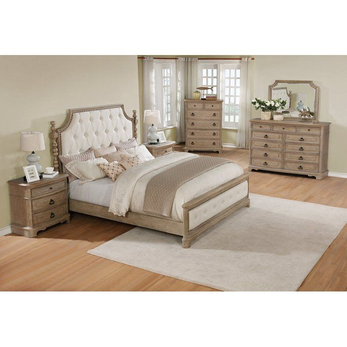 Pennington Platform 6 Piece Bedroom Set in 2019 | 1503 ...