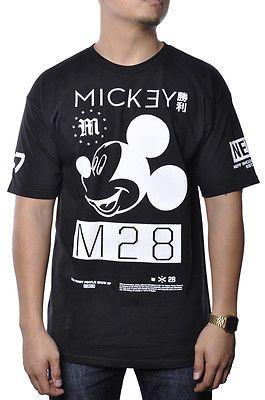 4ef64e3ef11 Neff Disney Mickey Mouse Head M28 S/S Collab Tee Shirt Streetwear ...