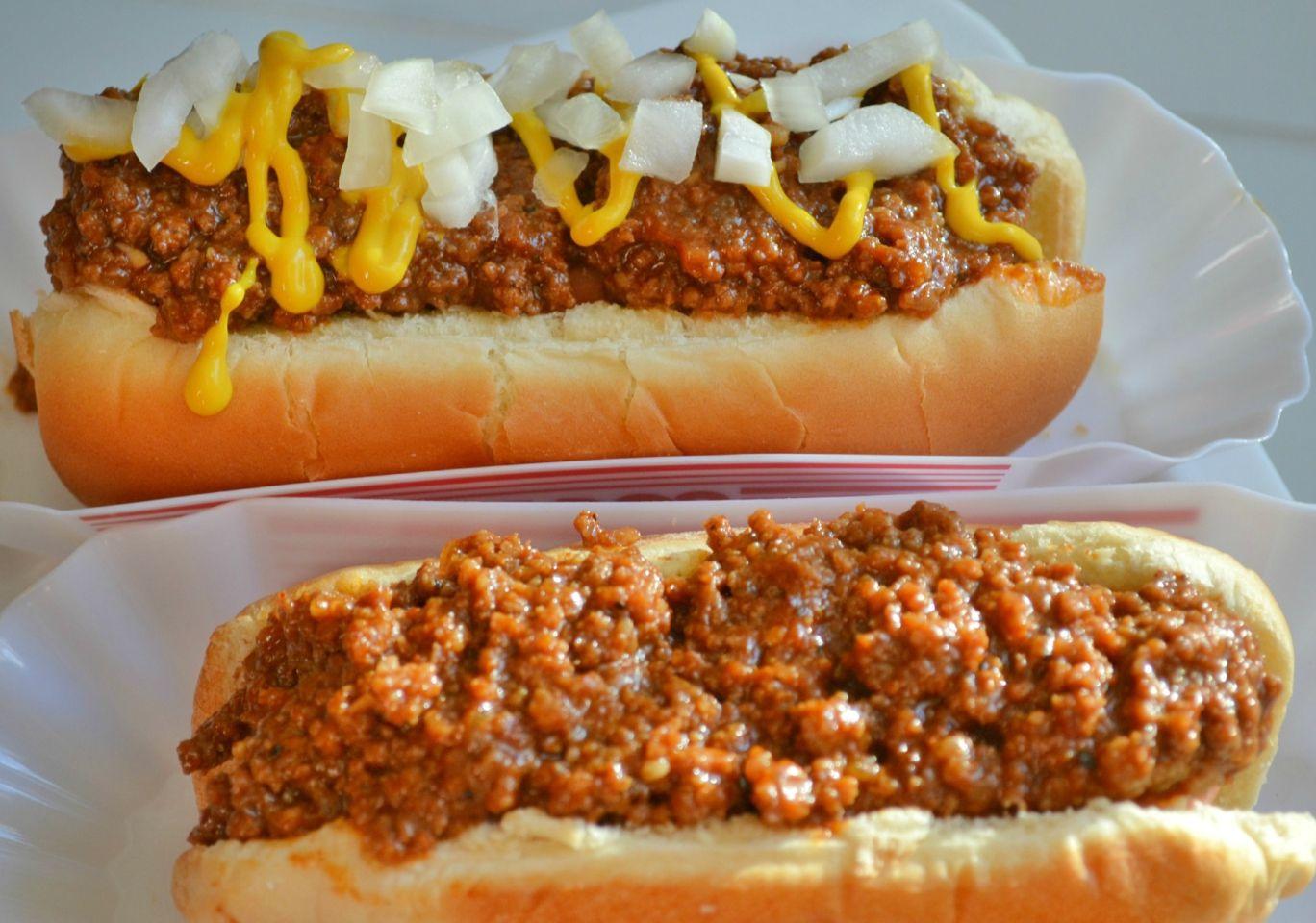 Bob's Homemade Hot Dog Sauce Recipe Homemade hot dogs