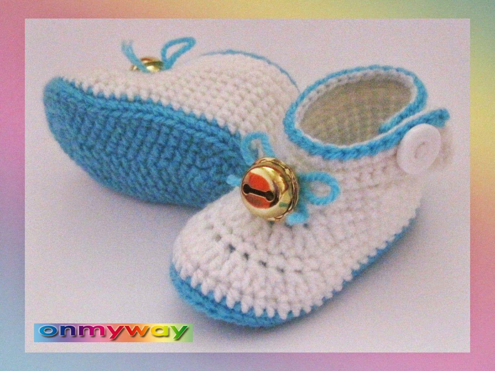 E-BOOK: Häkelanleitung детская обувь BLUE BELL | bebek örgü ...