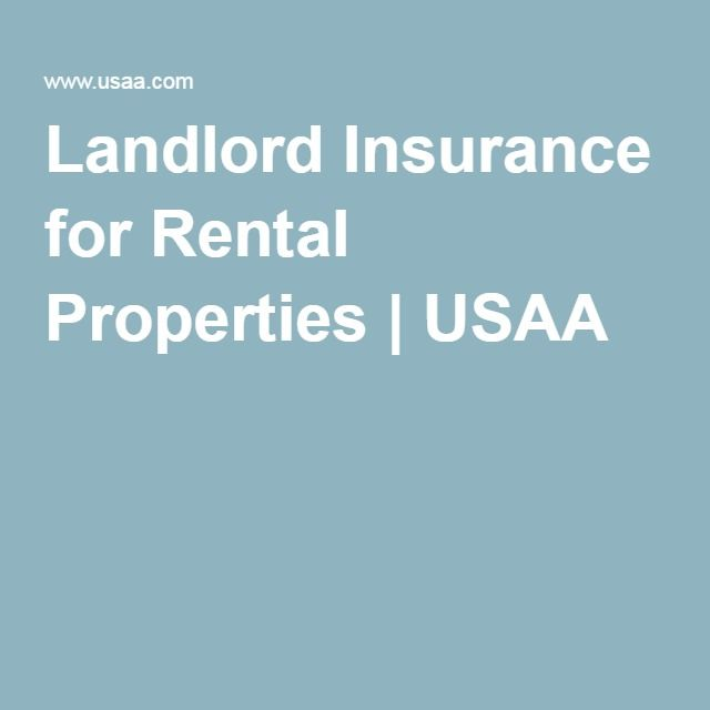 Usaa Insurance Quotes Landlord Insurance For Rental Properties  Usaa  Rental Homes .