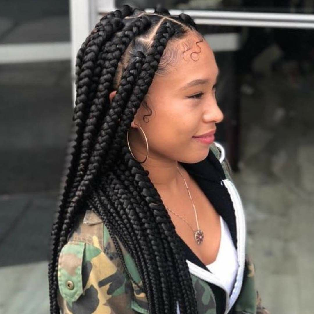Pin By Diva Rose On Diva Style Braids More Twist Braids Natural Hair Styles Ghana Braids
