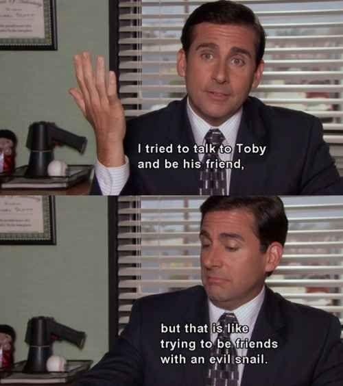 He always tried.