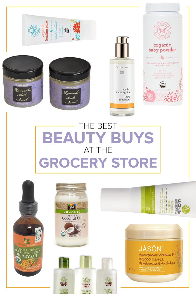 17 grocery store beauty buys celebrity experts love