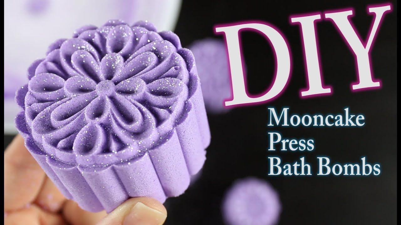 DIY Mooncake Press Bath Bombs YouTube Bath bombs diy