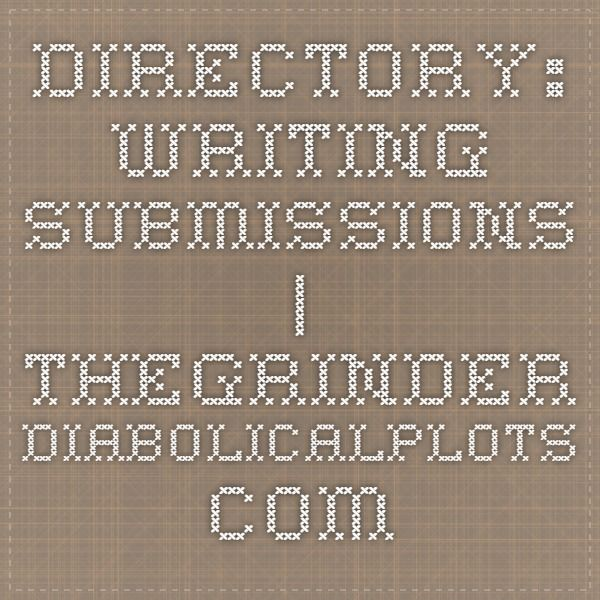 DIRECTORY WRITING SUBMISSIONS - Rejection Letter Log Fiction