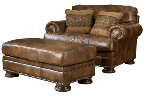 Best Oversized Chair And Ottoman Chair And A Half Rustic 400 x 300