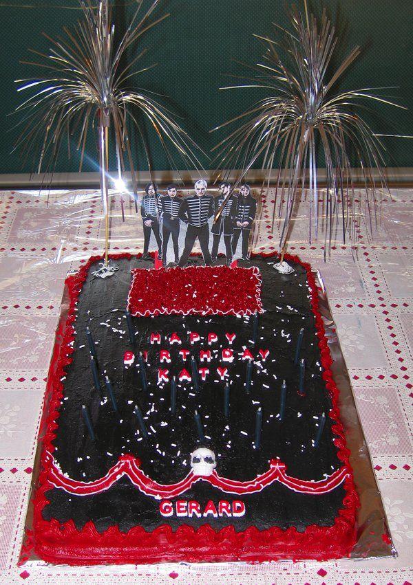 Mcr Birthday Cake Crematory Kreations In 2018 Pinterest Cake