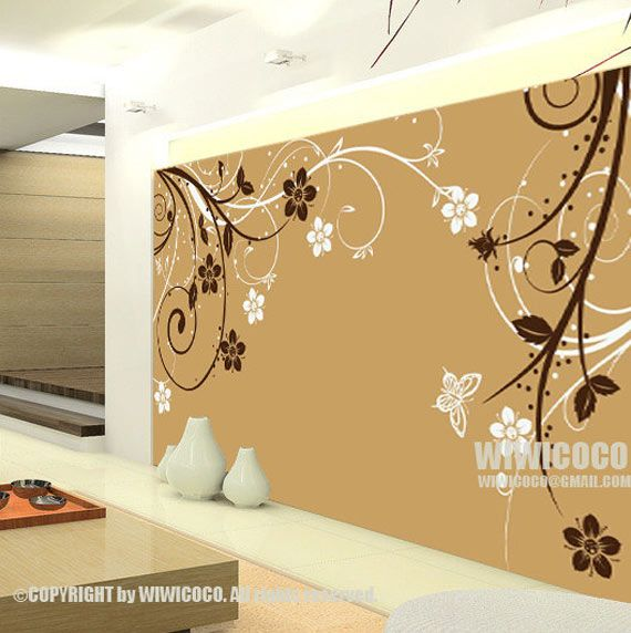 Wall decals for the home pinterest vinilos - Paredes pintadas a cuadros ...