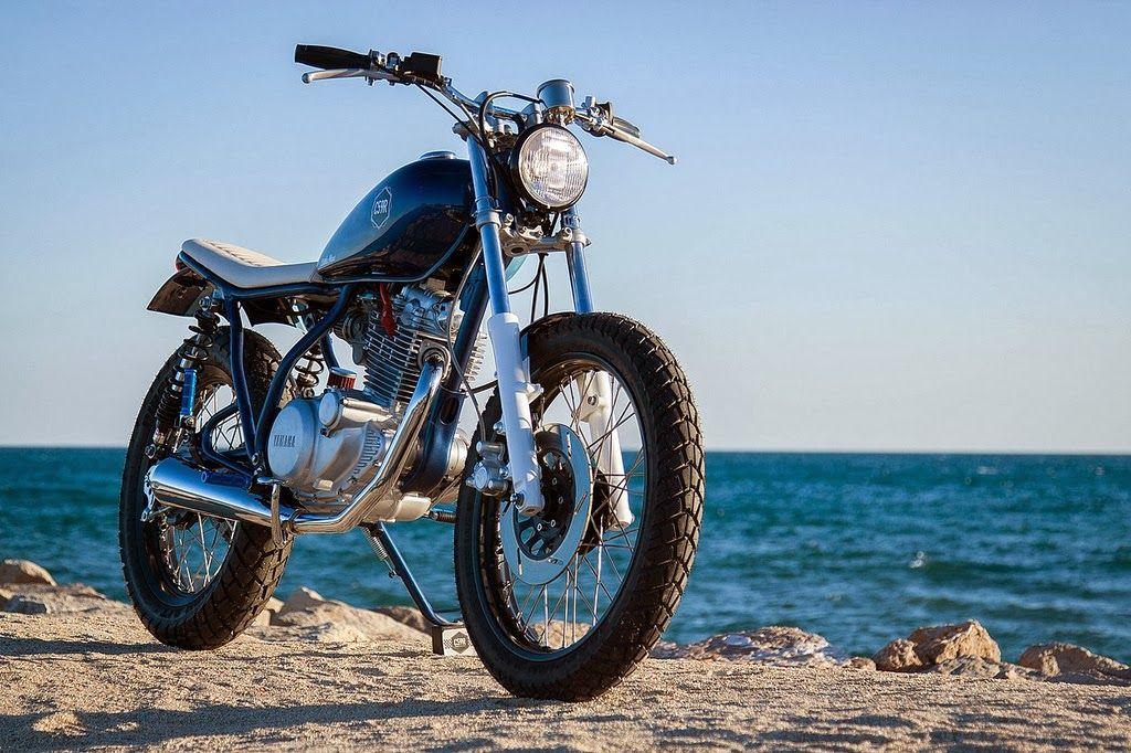 "Yamaha SR 250 ""Little Blue"" by C59R"