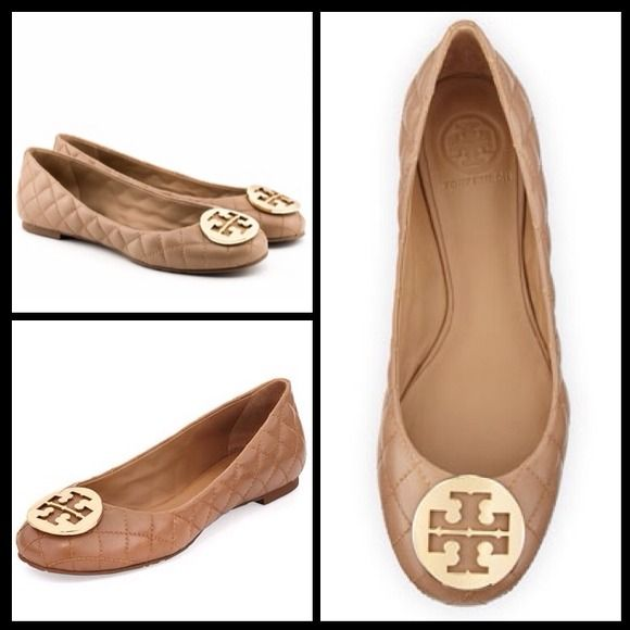 "Spotted while shopping on Poshmark: ""NWT Tory Burch Quinn Ballet Flat""! #poshmark #fashion #shopping #style #Tory Burch #Shoes"