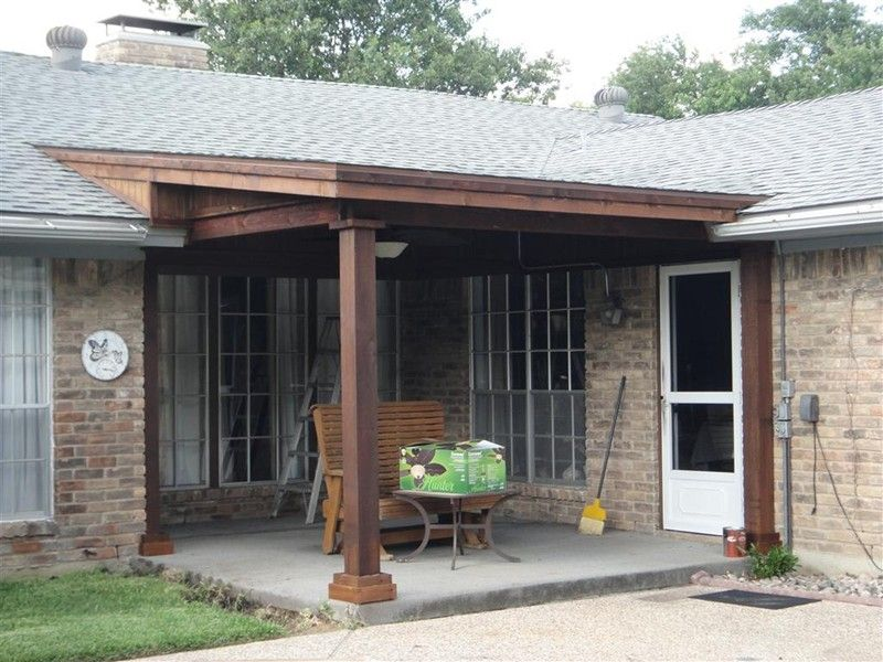 Adding A Covered Patio To A Cross Hipped Roof Yahoo Image Search Results Porch Roof Design Shed Roof Patio Roof