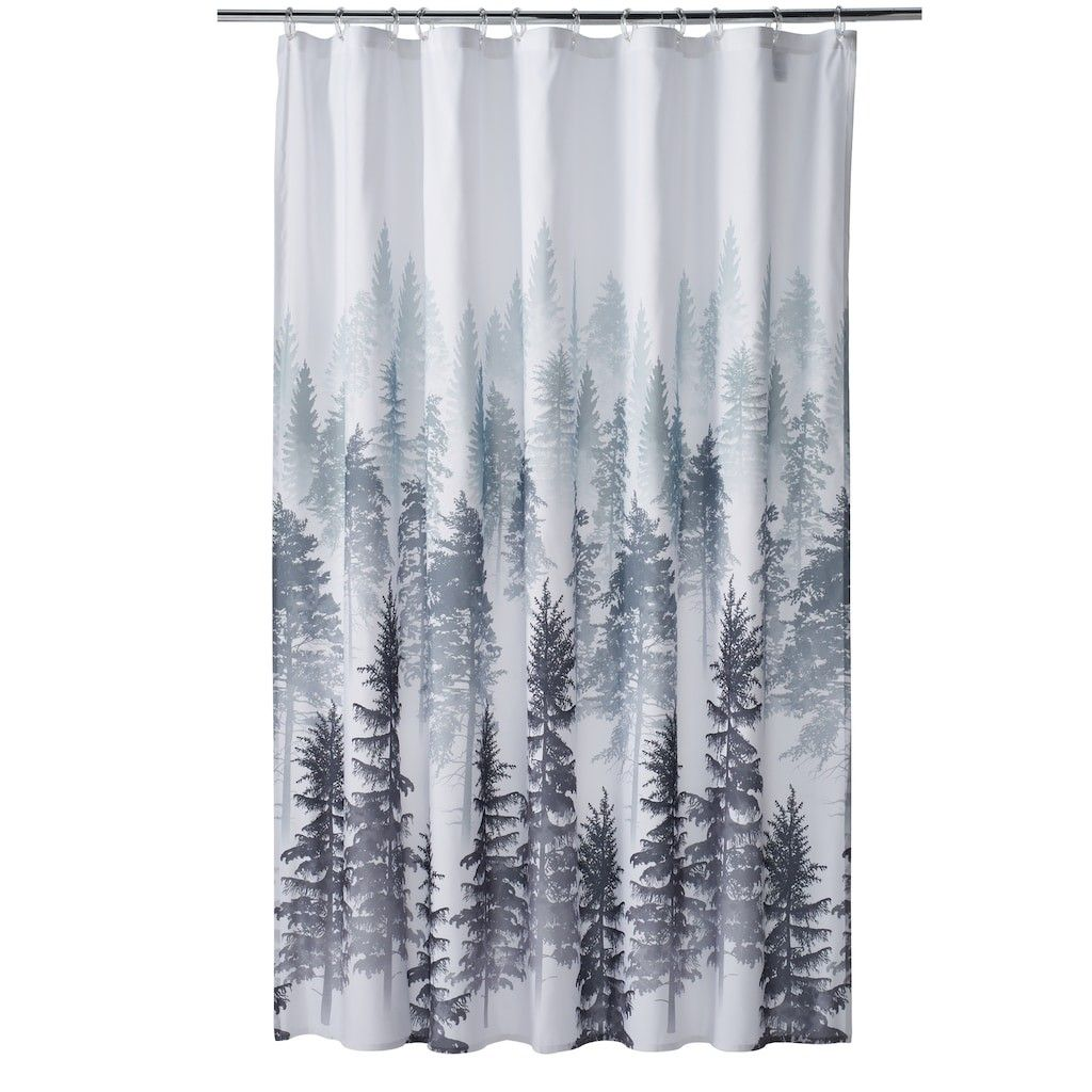 Home Classics Forest Shower Curtain Kohls With Images Shower