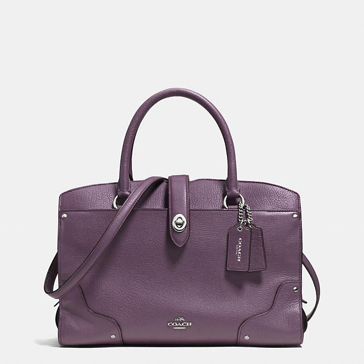 Coach Malaysia Official Page Mercer Satchel 30 In Grain Leather