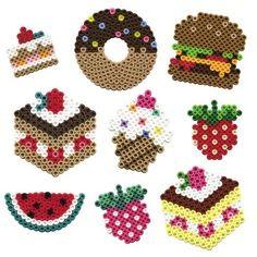 desserts perler beads