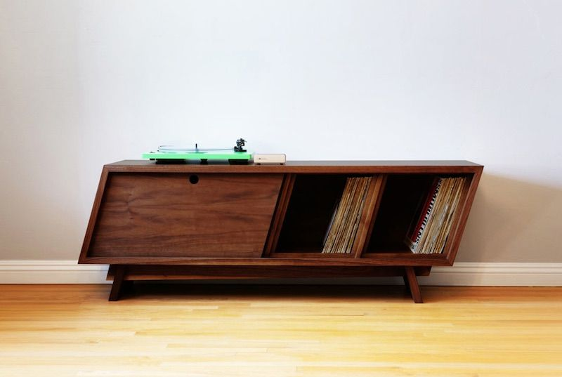 Sick Of The Same Old IKEA Shelf, And Want To Get Stuck Into Building Your  Own Record Cabinet? Then This New Video May Be For You.