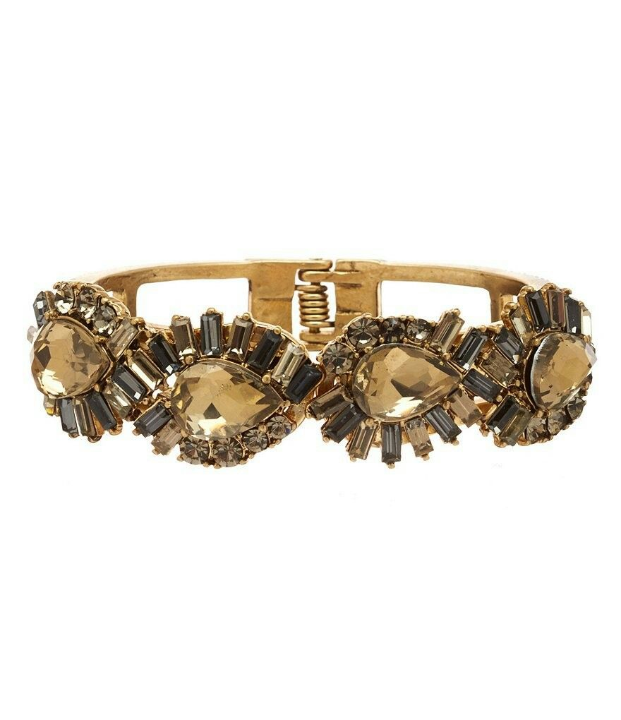 Pandora bracelet dillards - Belle Badgley Mischka Abstract Rhinestone Cuff Bracelet Item 04859746 38 00 Dillard S Exclusive