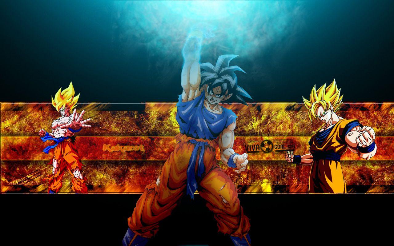 Imagen De Goku Kakaroto Normal Fase 1 Fase Dos Fase 3 Fase: Gokú Normal, Super Saiyajin Y Super Saiyajin Fase 2