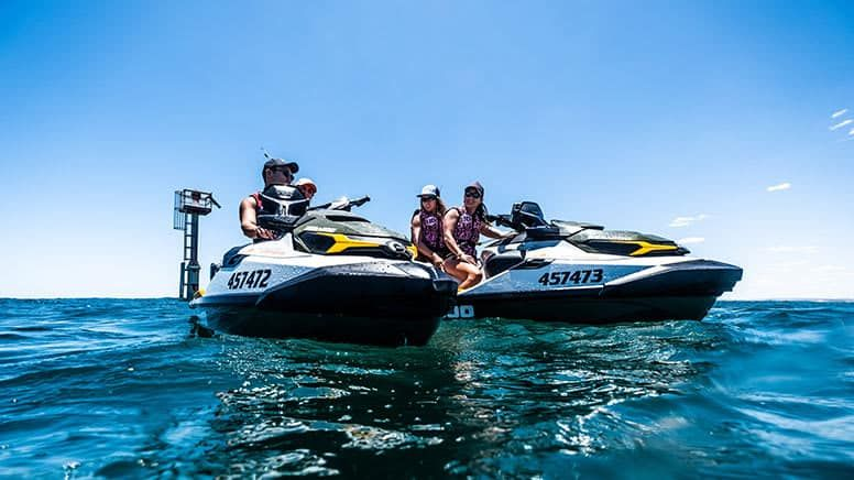 Can you wakeboard behind a jet ski crow survival in