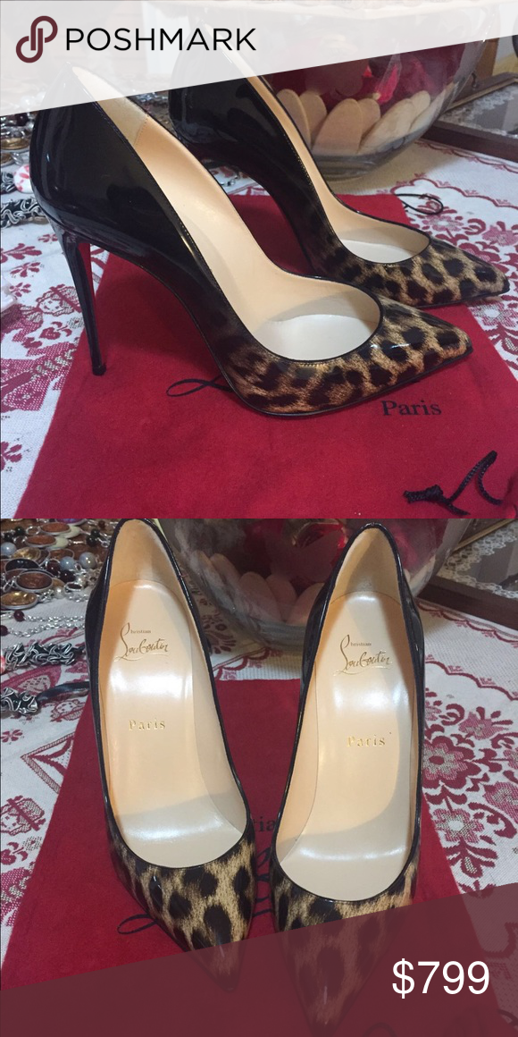 37.5 cl pigalle brand new no trades Brand new comes with dust bag and extra heel tip no box no trades black leopard ombré lower 🅿️🅿️ n M 708-374-0534 Christian Louboutin Shoes Heels