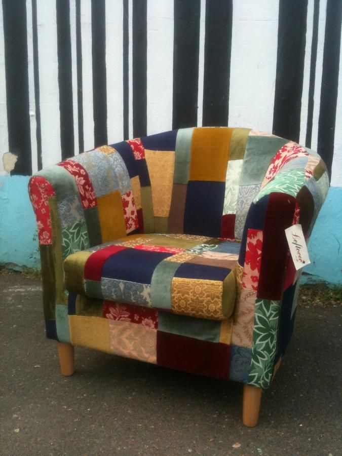 Patchwork Armchair By Leftover   Magpie Recycling Co Operative Ltd |  Brighton U0026 Hoveu0027s Favourite