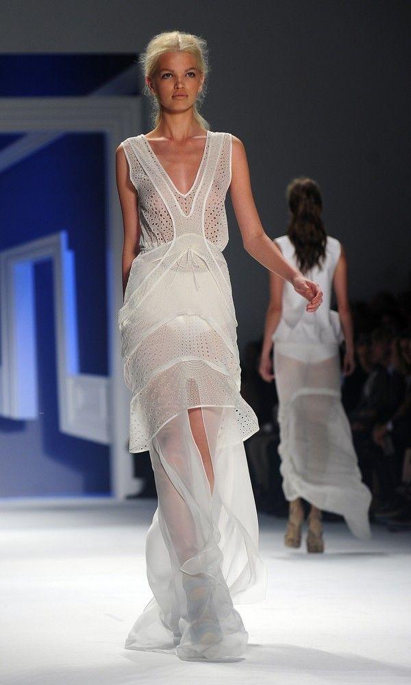 Vera Wang S/S 2012 #runway