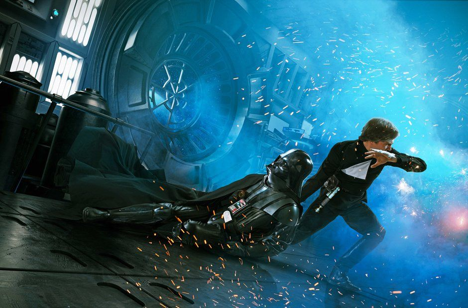 Star Wars VI por Michael Heath.
