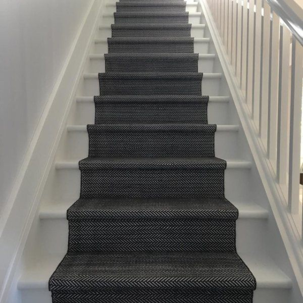 New Black Carpet Runners for Hall