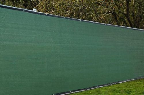 6 X 50 Fence Windscreen Privacy Screen Cover Green Mesh Fence