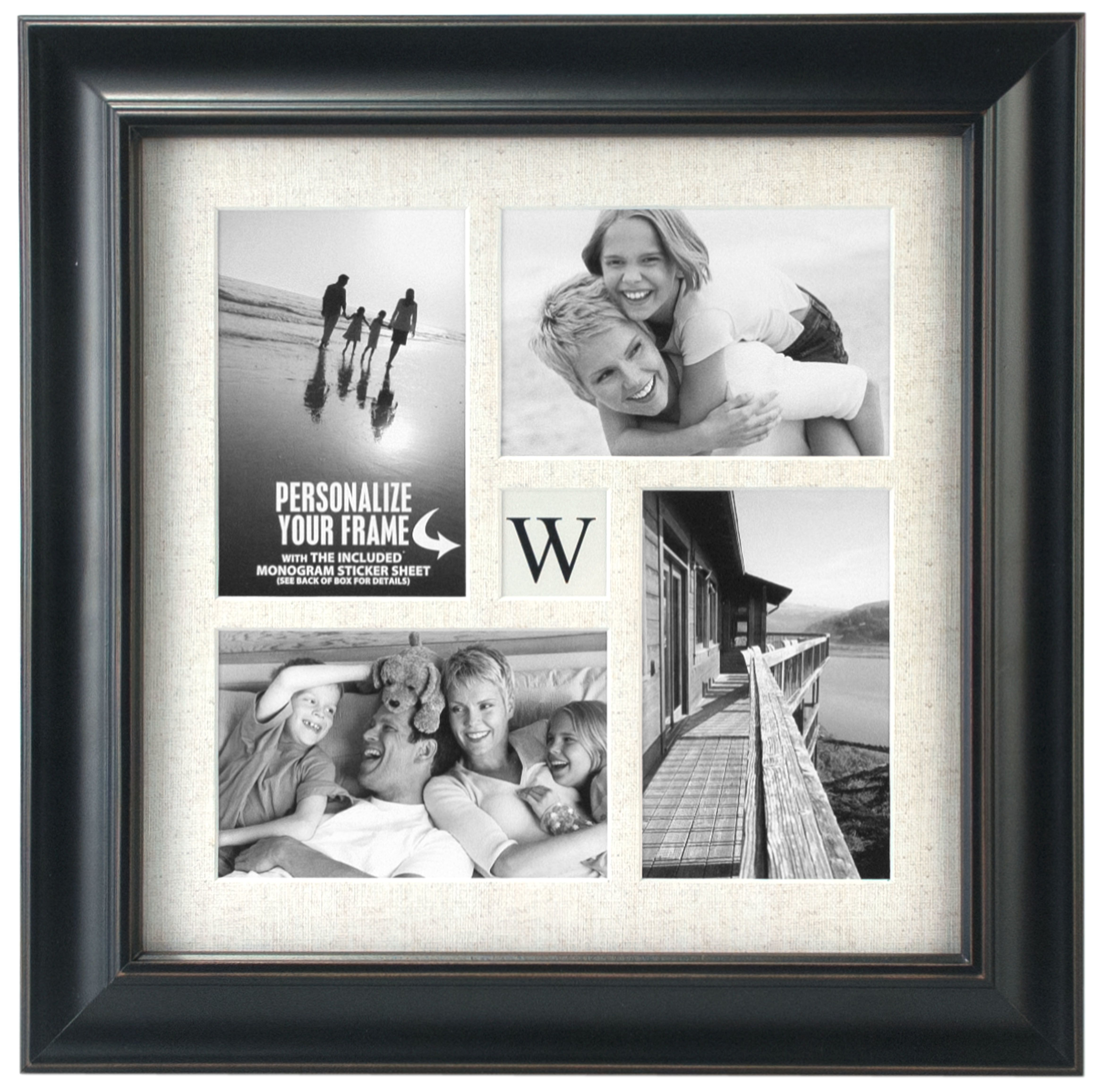 Tabletop Storyboard Frame 4X6 - Family Monogram Collage | Products ...