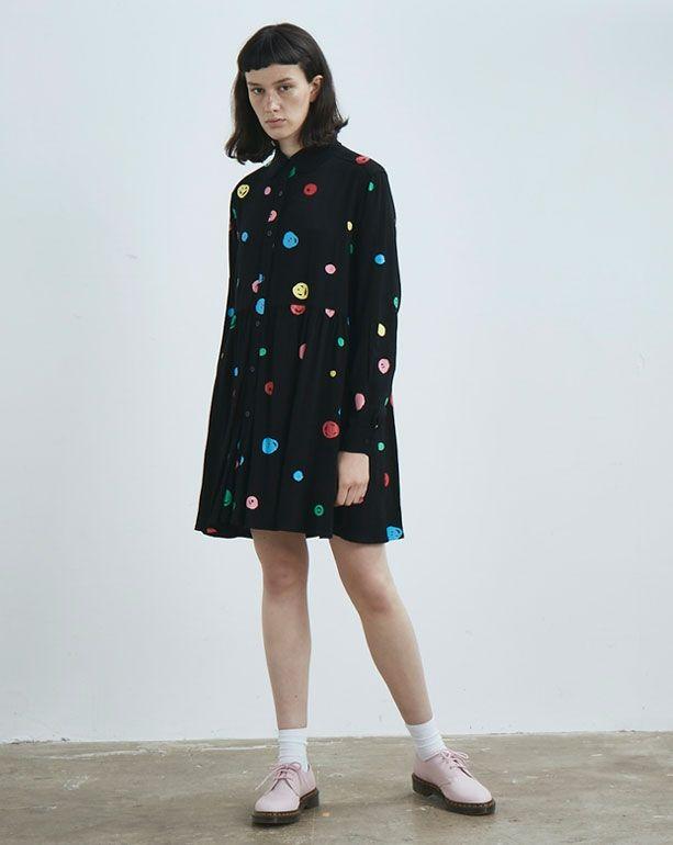 1f4b608cd4e Lazy Oaf Scribble Spot Dress - Everything - Categories - Womens ...