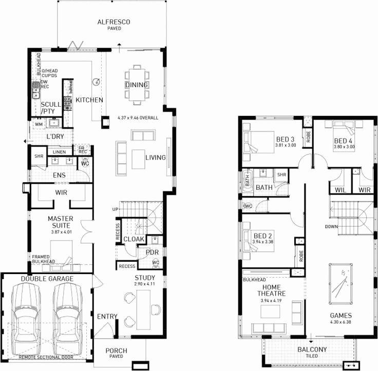 3 Bedroom Double Story House Plans Luxury Double Storey House Plans 11 Double Storey House Double Storey House Plans Two Storey House Plans House plan double floor