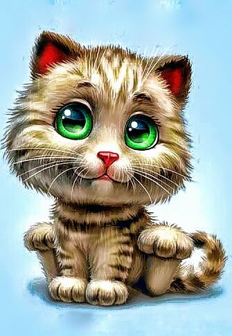Cat art image by Susie Meadows on cartoon sketches | Cat ...