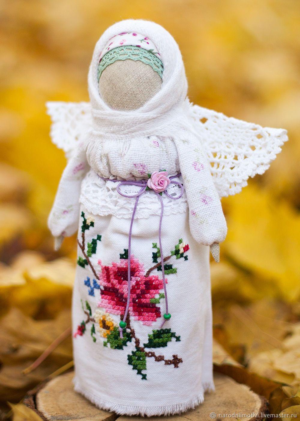 Кукла — оберег — Ангел, мастер — класс с пошаговыми фото