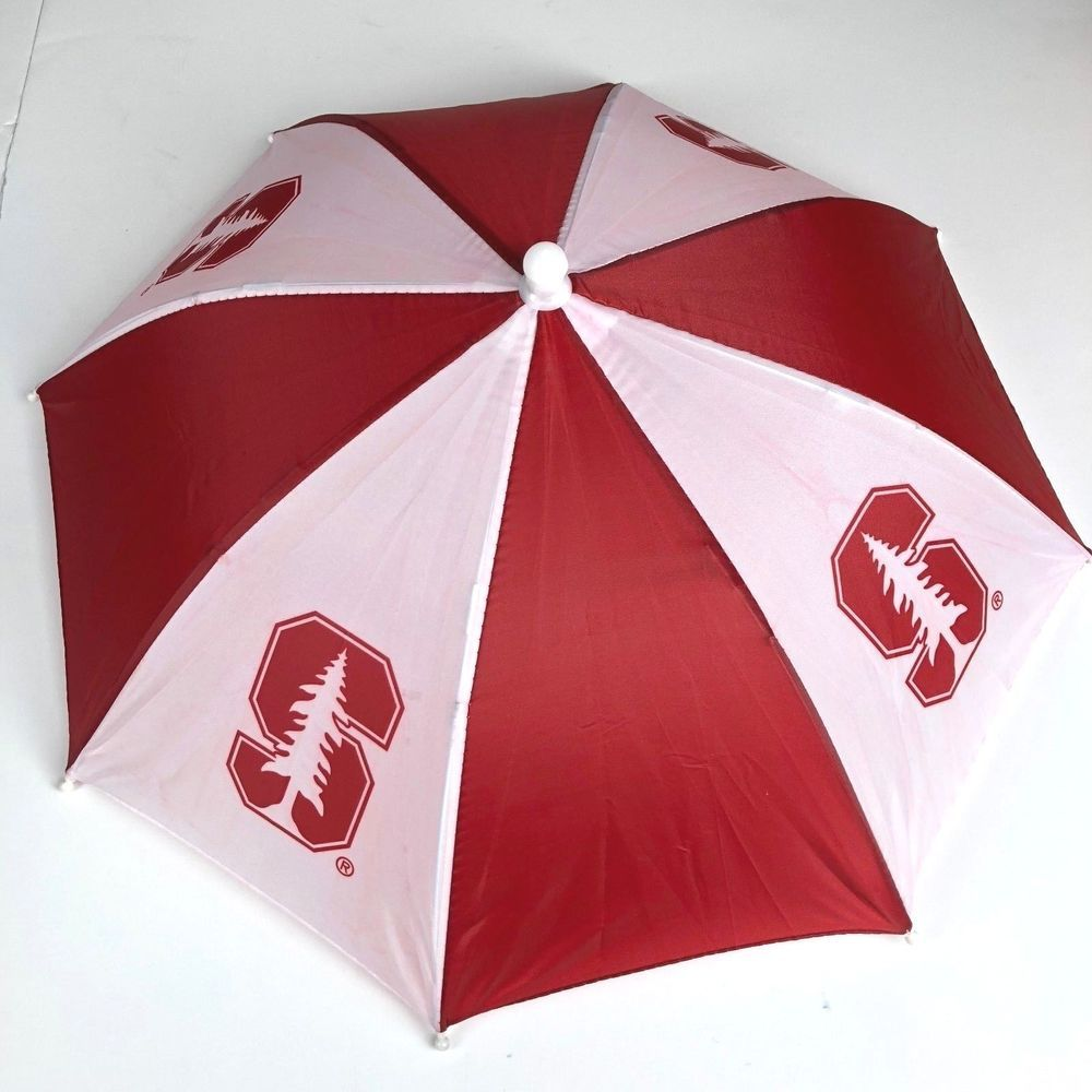 Stanford University Umbrella Hat Collapsible Cardinal Fan Sun Shade Unbranded Stanfordcardinal Stanford Logo Stanford Cardinal Stanford University