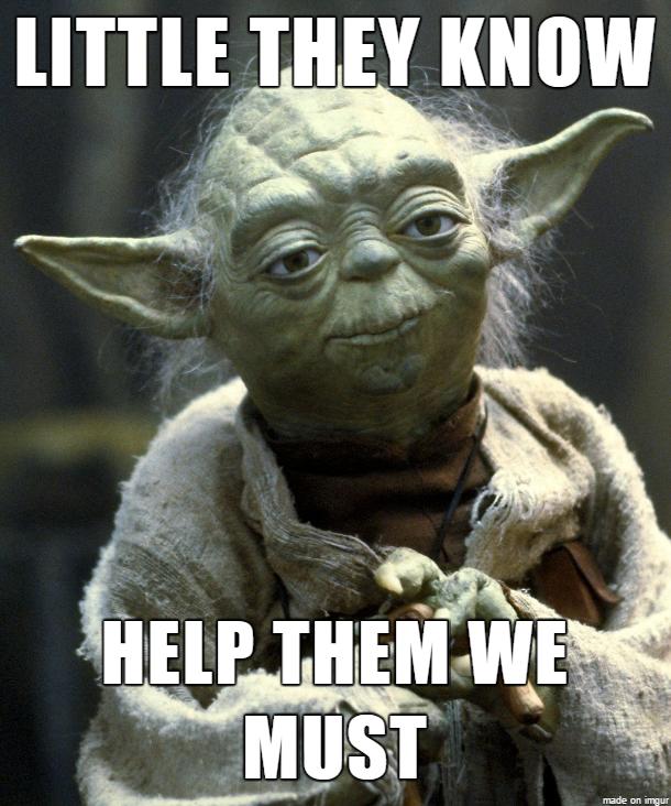 Yoda Meme Tech Support Yoda | Cl...