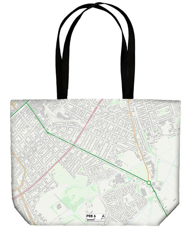 Shopping Bag Sefton PR8 6 Map