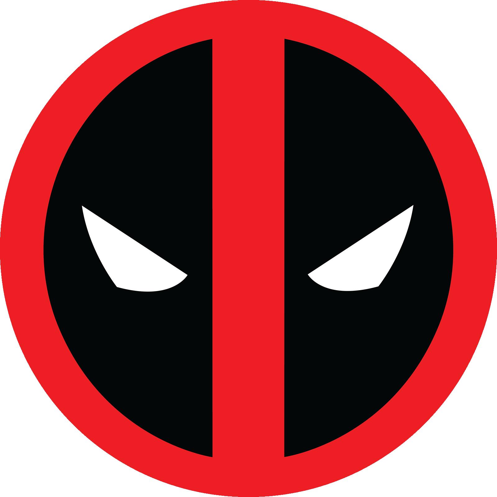Printable Superhero Logos Deadpool - Year of Clean Water