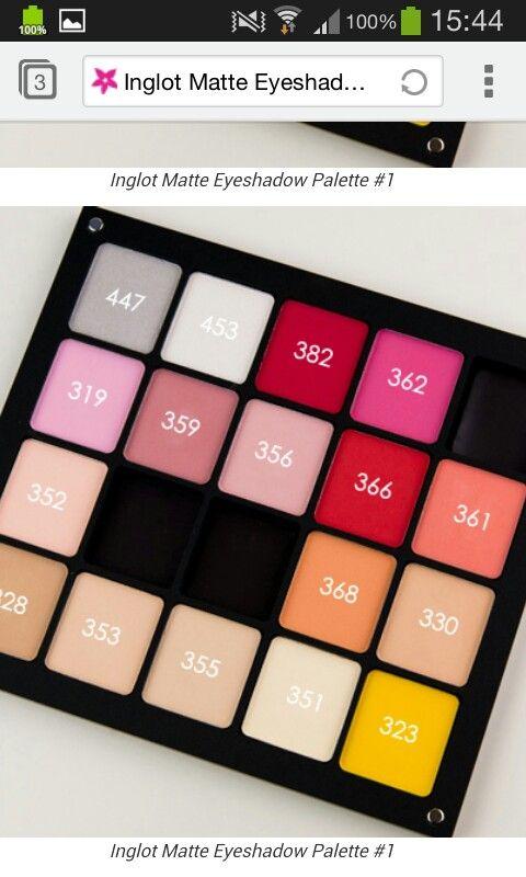 Maggies Makeup: Inglot Eyeshadows - Neutrals   Inglot