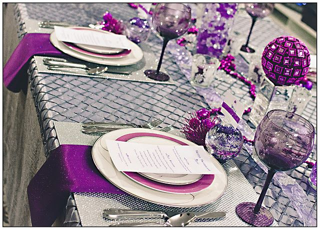 Love the table decorations!