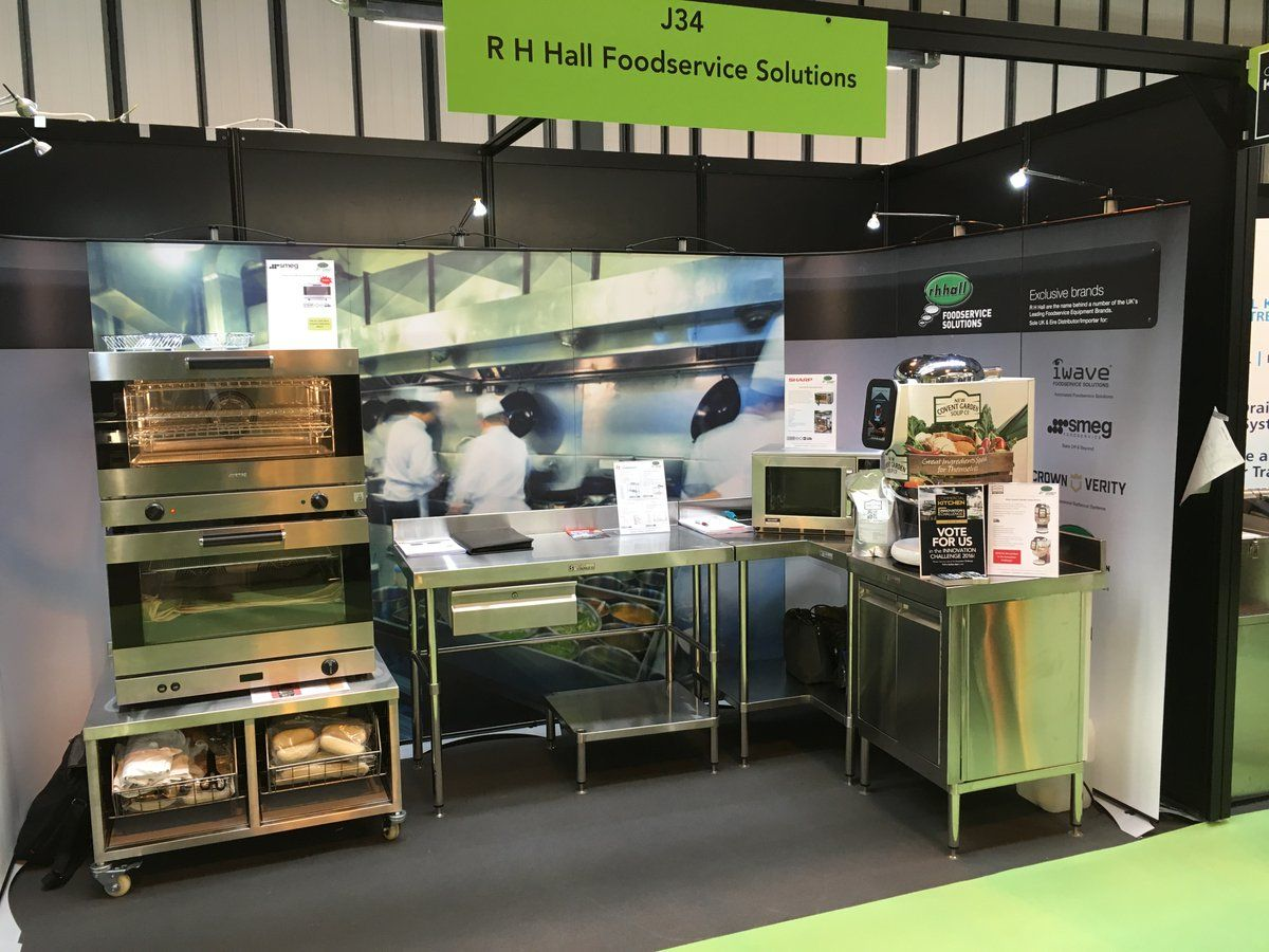 Team R H Hall at the Commercial Kitchen Show at NEC