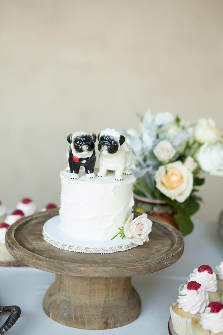 pug topped cake funny things pinterest wedding things
