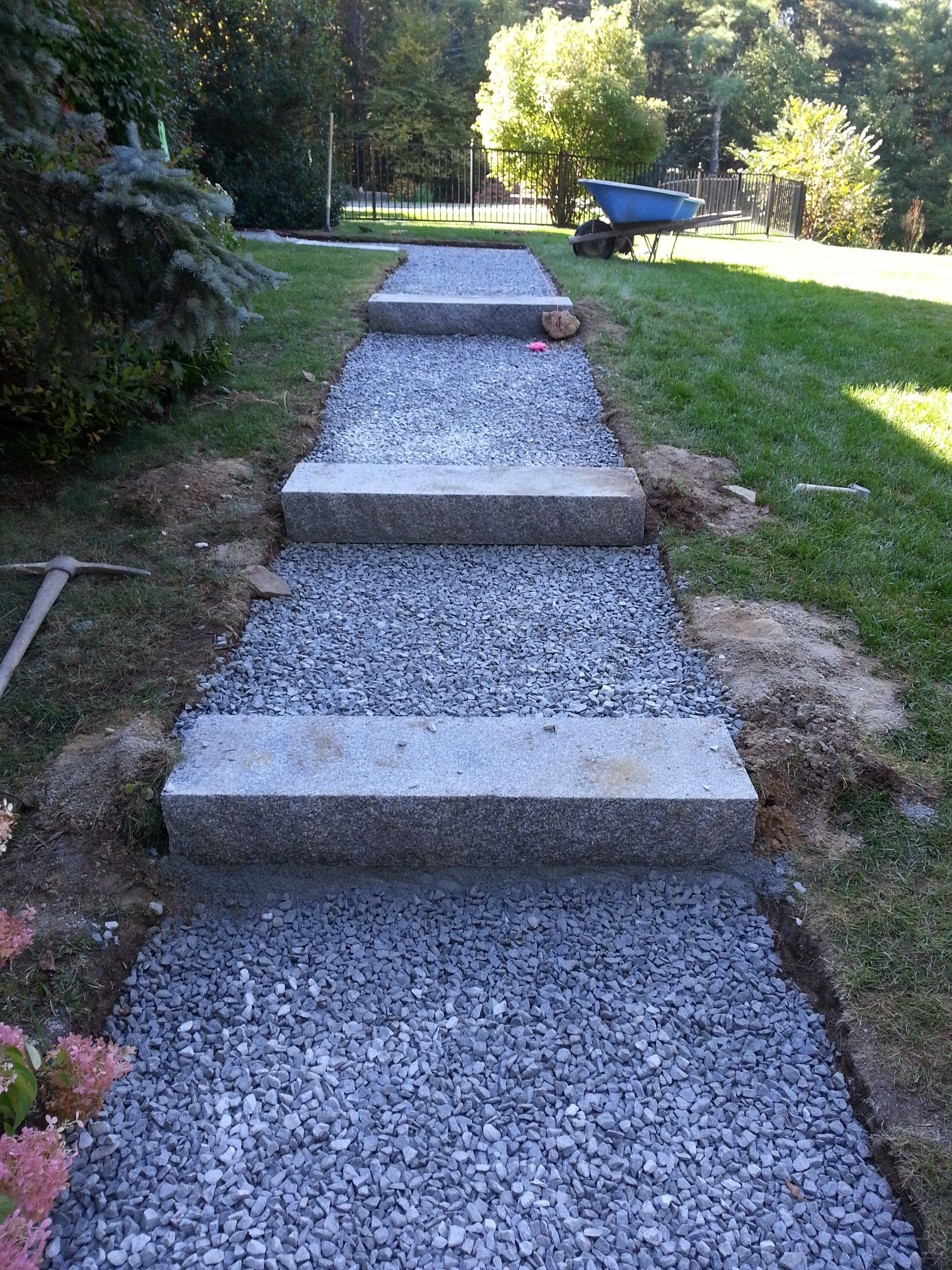 Best Bluestone Walkway And Granite Steps Boxborough Ma 640 x 480